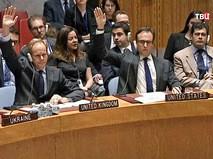 Голосование совбеза ООН