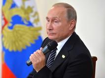 Владимир Путин на пресс-конференции по итогам встречи лидеров стран БРИКС