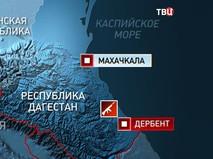 Карта Дагестана