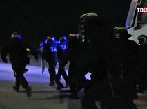 Митинг в Кале