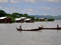 Река Чиндуин в Мьянме