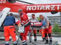Вертолет экстренных служб в Австрии