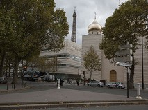 Свято-Троицкий собор на территории Российского духовно-культурного православного центра в Париже