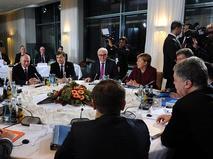 """Встреча лидеров стран """"нормандской четверки"""" в Берлине"""