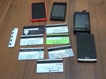 Банковские карты и мобильные телефоны