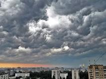 Тучи над Москвой
