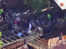 На месте трагедии в парке аттракционов в Австралии