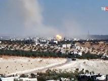 Авиаудар в Сирии