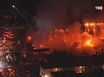 Последствия пожара в США