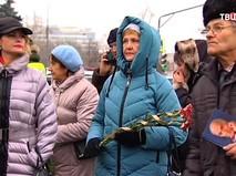 Люди пришли проститься с Владимиром Зельдиным