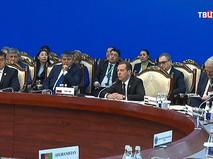 Дмитрий Медведев на заседании Совета глав правительств Шанхайской организации сотрудничества