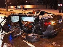 Последствия ДТП с участием автомобиля Jaguar