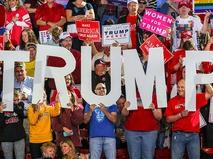 Поддержка Дональда Трампа на выборах президента США