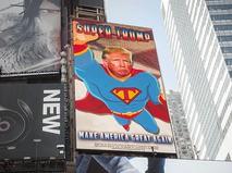 Плакат с Дональдом Трампом