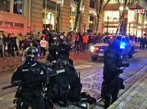 Полиция США задерживает протестующих
