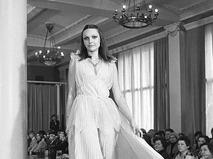 Демонстрация новых моделей одежды. Московский общесоюзный дом моделей одежды