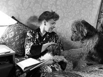 Зоя Фёдорова со своими собаками