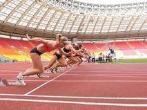 Международные спортивные соревнования в Лужниках