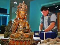 Выставка артефактов Древнего Китая