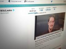 Статья об Эдварде Сноудене на WikLleaks