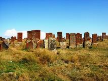 Каменные хачкары. Норатус, Армения