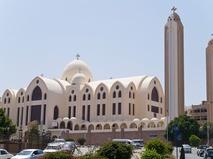 Коптская церковь. Асуан, Египет
