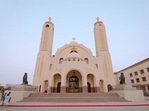 Коптский православный храм всех святых, храм небожителей. Шарм-эш-Шейх, Египет