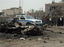 На месте взрыва в Багдаде