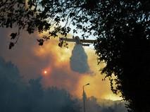 Тушение пожара в Израиле