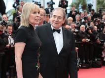 Робер Оссейн и его супруга актриса Кэндис Пату на Красной дорожке 66-го Каннского кинофестиваля