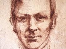 Портрет Михаила Булгакова работы художницы Колесовой И.А., 1926 год