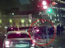 ДТП, где внедорожник сбил пешеходов в Москвы