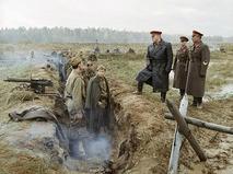 """Кадр из фильма """"Битва за Москву"""""""
