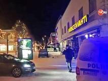 Полиция финляндии на месте стрельбы