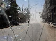 Жилой квартал города Алеппо, Сирия