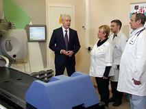 Сергей Собянин посетил ГКБ им. Плетнева