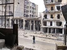 Последствия боевых действий в Алеппо