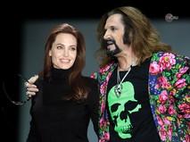 Анжелина Джоли и Никита Джигурда. Коллаж TVC.RU