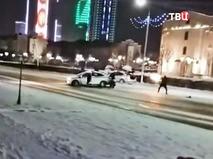 Перестрелка полиции и боевиков в Грозном