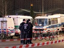 Полиция Германии на месте происшествия