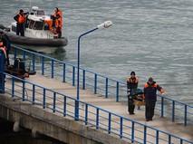 Поисково-спасательные работы у побережья Черного моря
