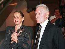 Юрий Григорович с супругой Наталией Бессмертновой