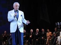 Юрий Григорович в Большом театре во время церемонии награждения победителей XI Международного конкурса артистов балета и хореографов