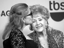 Кэрри Фишер и ее мать Дебби Рейнолдс