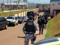 Полиция подавляет бунт в бразильской тюрьме