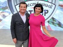 Отар Кушанашвили и Зинаида Руденко