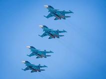 Истребители Су-34