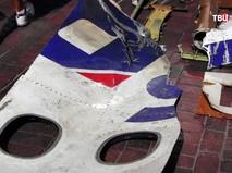 Обломки малайзийского самолета Boeing 777