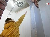 Последствия протекания крыши в доме