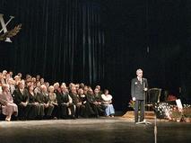 Кирилл Лавров на сцене Российского государственного академического Большого драматического театра имени Г.А. Товстоногова
